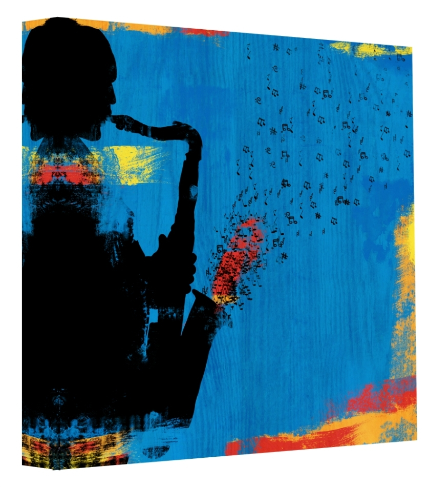 Jazz Canvas Wall Art Regarding Newest Pop Art & Jazz Canvas Wall Art – Ptmimages (View 6 of 15)