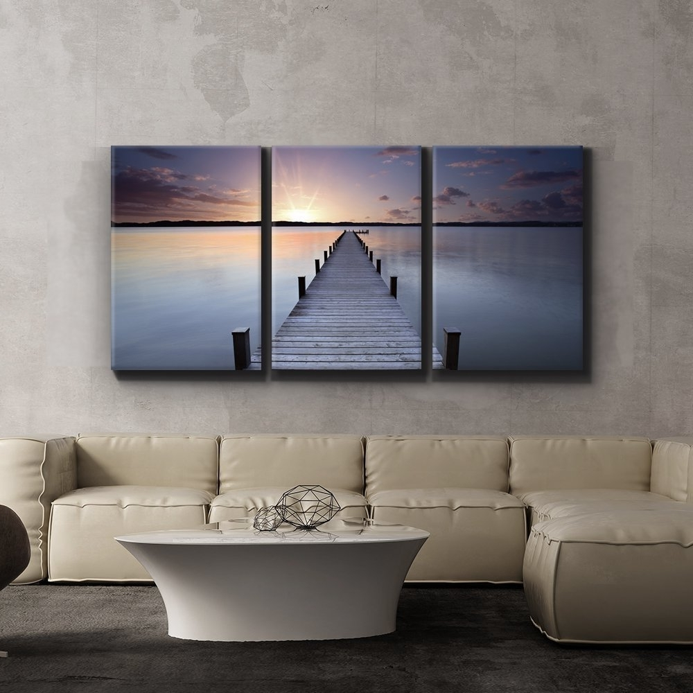 Jetty Canvas Wall Art In Most Recent Wall26 – Art Prints – Framed Art – Canvas Prints – Greeting (Gallery 11 of 15)
