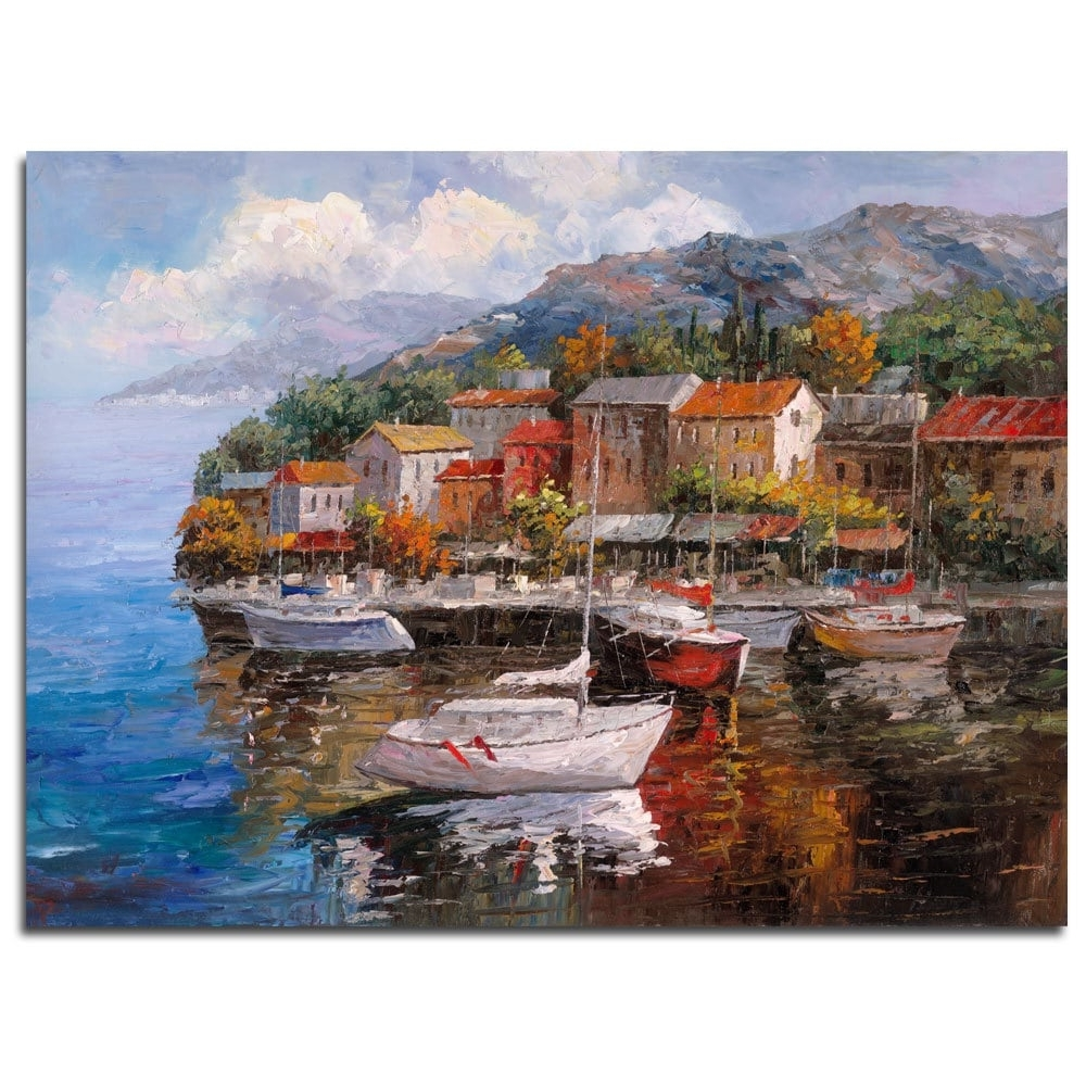 Joval Canvas Wall Art With Well Known Joval 'at Sea' Canvas Wall Art – Free Shipping Today – Overstock (Gallery 4 of 15)
