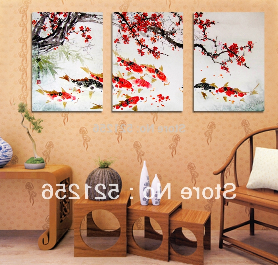 View Gallery of Koi Canvas Wall Art (Showing 15 of 15 Photos)