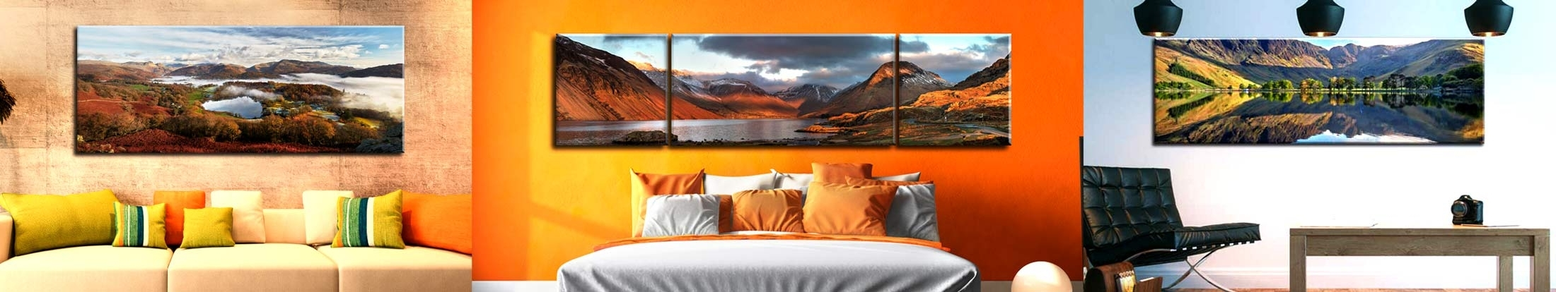 Lake District Canvas Wall Art Within Well Known Lake District Canvas Prints – Single And Multi Panel Canvases (View 8 of 15)