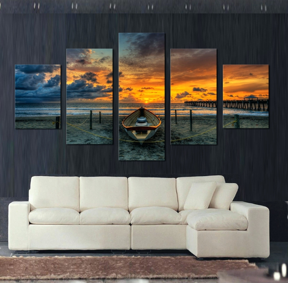 Large Canvas Wall Art For Favorite Wall Arts ~ Big City Canvas Wall Art Set Of 3 Sofa White Canvas (View 11 of 15)