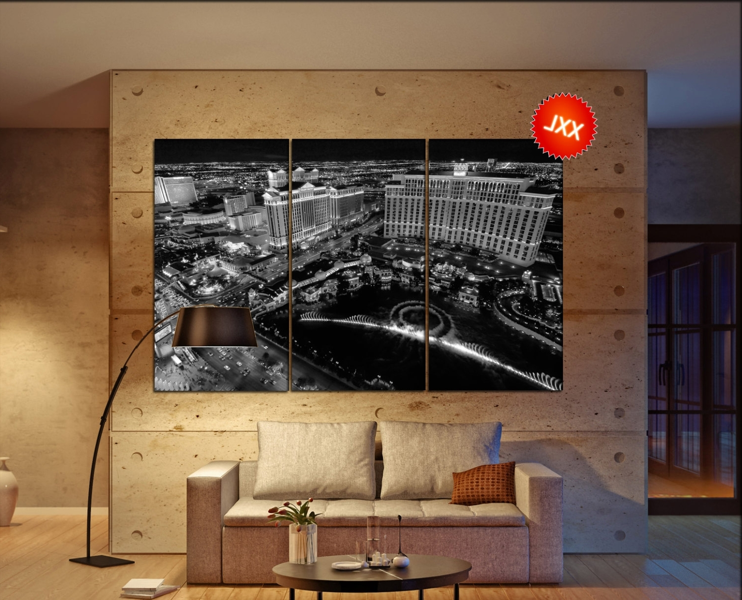 Las Vegas Canvas Wall Art Pertaining To Most Up To Date Amazing 90+ Las Vegas Wall Art Inspiration Of Wall (View 8 of 15)