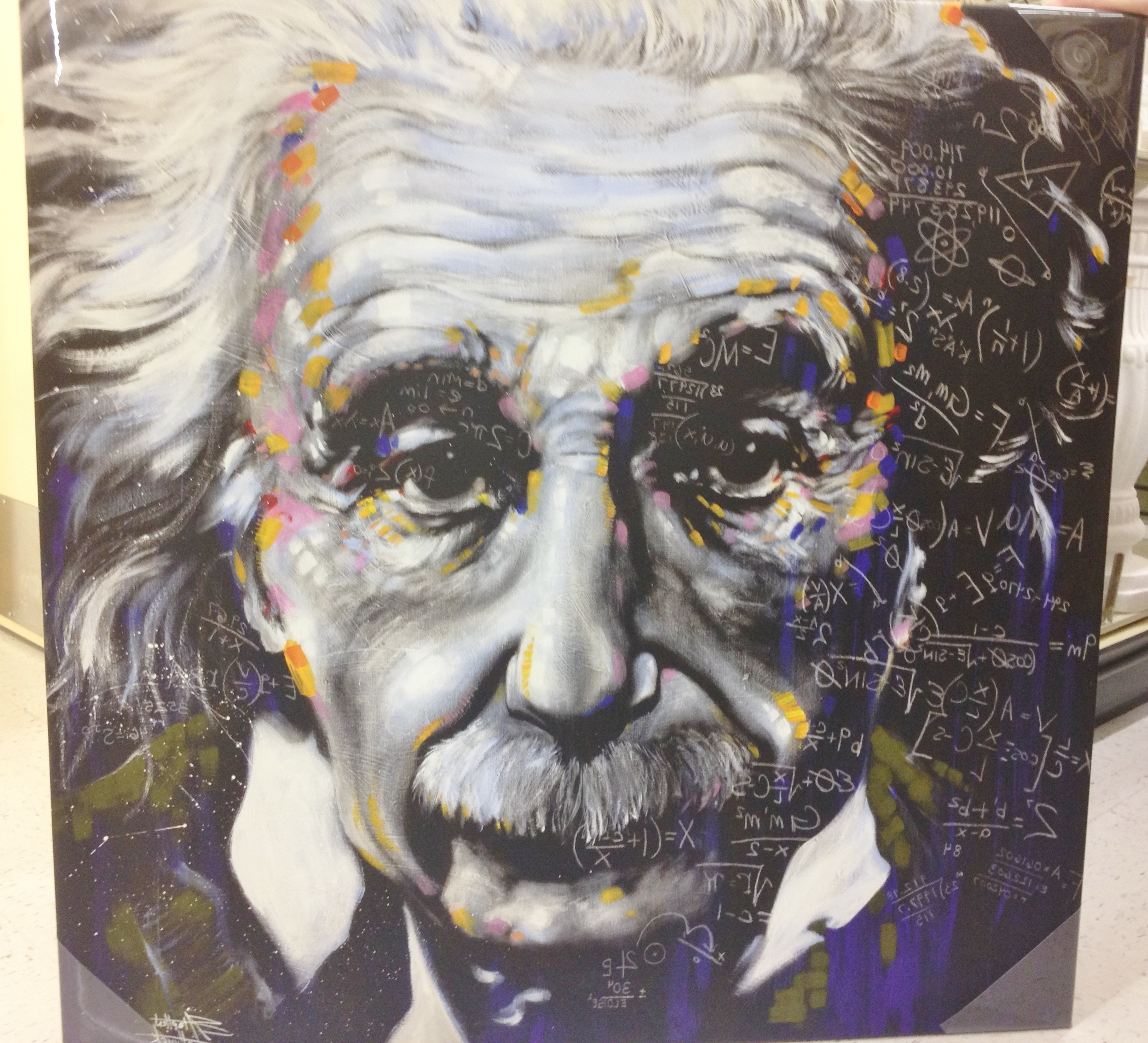 Latest Albert Einstein Canvas Art (View 9 of 15)