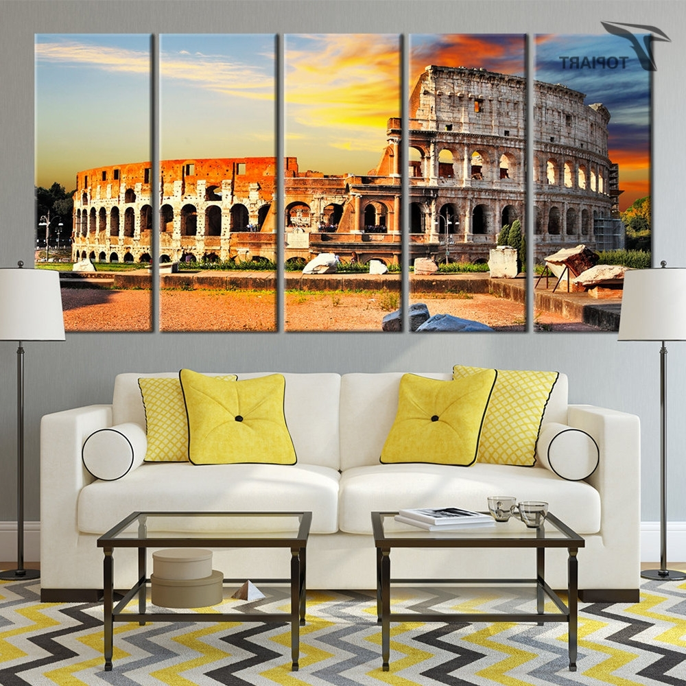 Featured Photo of Canvas Wall Art Of Rome