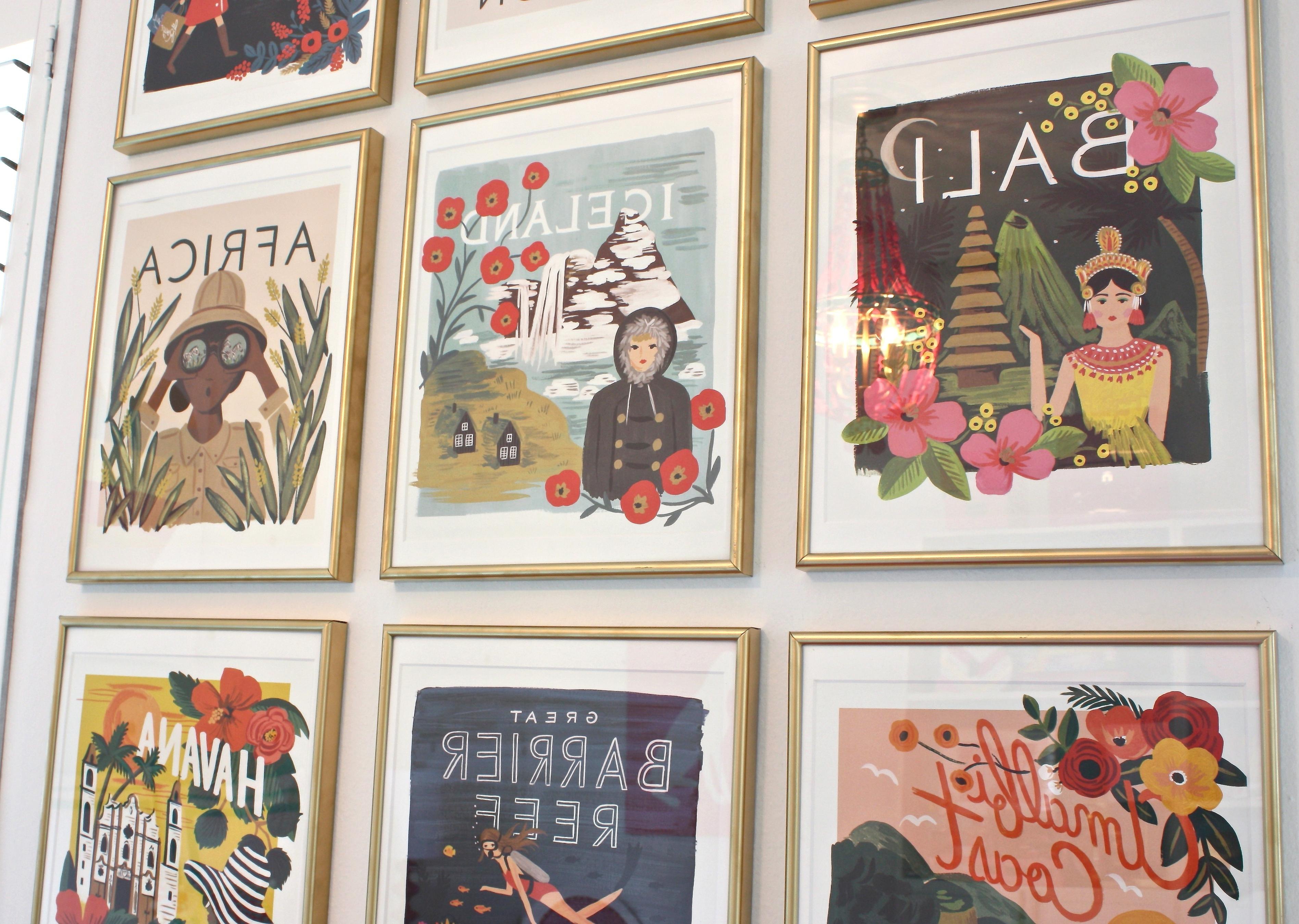 Latest Diy Framed Calendar Prints In Framed Comic Art Prints (Gallery 10 of 15)