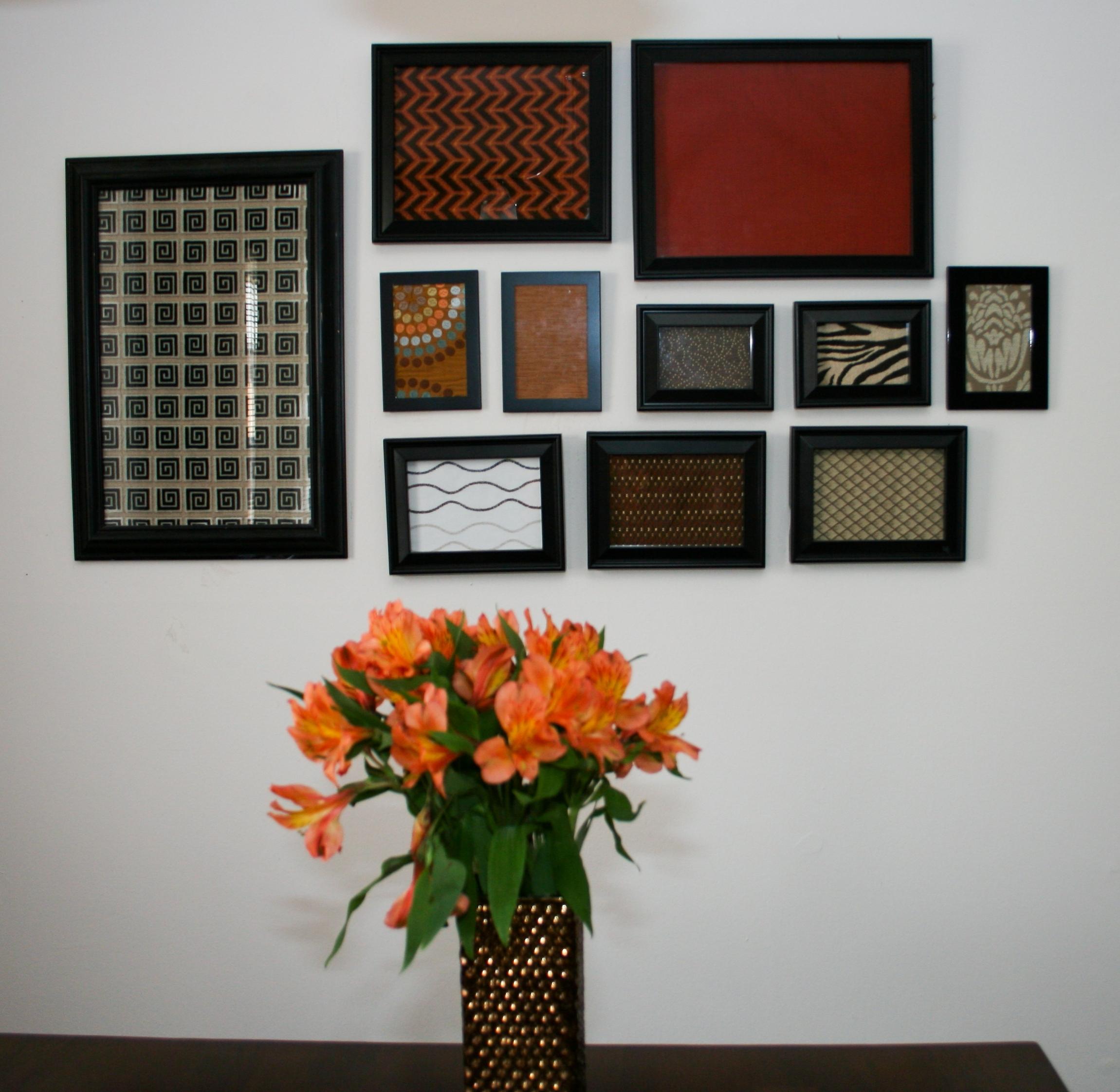 Clip Frames Fabric Wall Panel : Photos fabric wall art frames