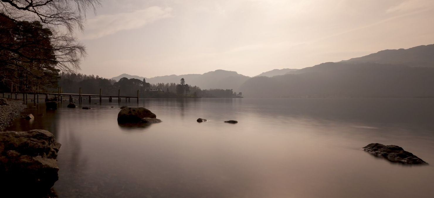 Latest Lake District Canvas Wall Art Pertaining To Landscape Canvas Framed Wall Art – Misty Lake District (View 10 of 15)