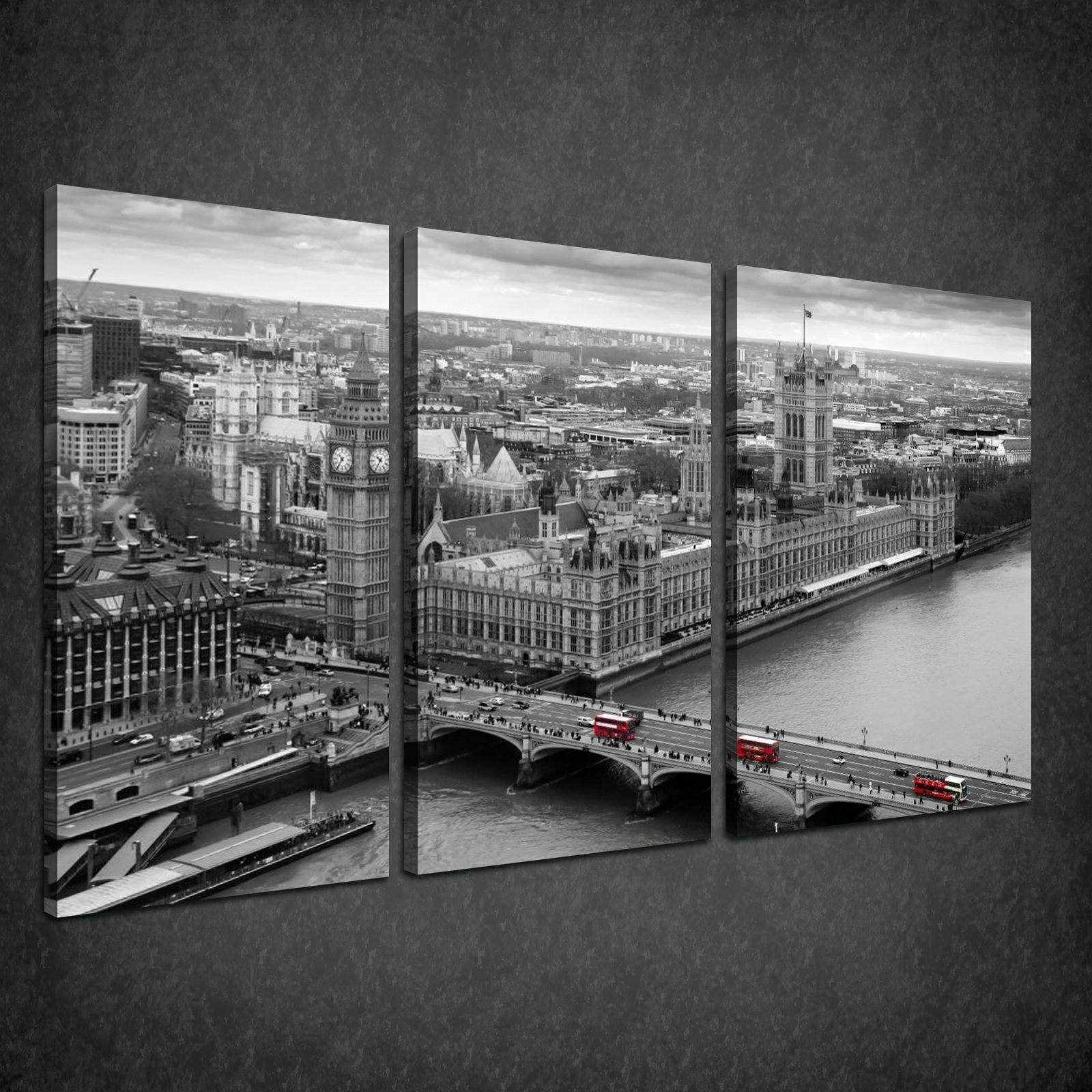 Latest London Canvas Wall Art With Canvas Print Pictures. High Quality, Handmade, Free Next Day Delivery (View 10 of 15)