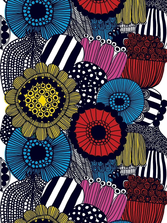 Latest Marimekko 'karkuteilla' Fabric Wall Art With Siirtolapuutarha Designedmaija Louekari For Marimekko (View 4 of 15)