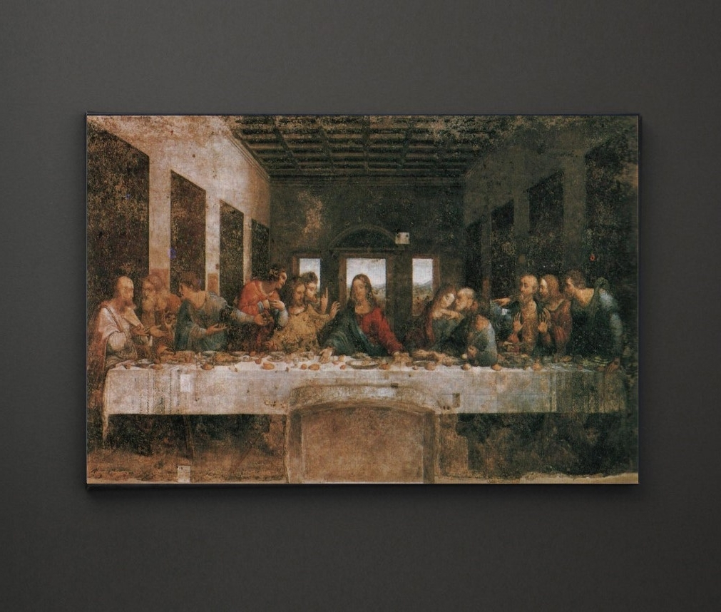 Leadgate Canvas Wall Art In Newest Leonardo Da Vinci Last Supper A4 Framed/box Canvas A4 A3 A2 A (View 15 of 15)