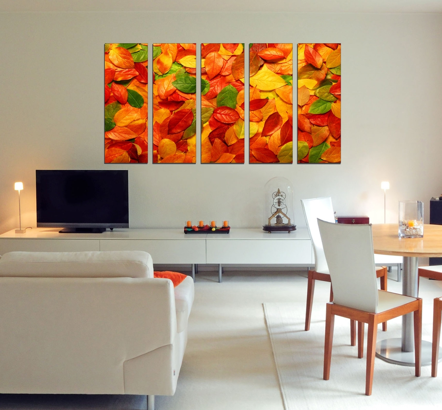 Leaves Canvas Wall Art Pertaining To Widely Used Canvas Art Prints – Autumn Leaves Canvas Art – Photo Canvas Prints (View 10 of 15)