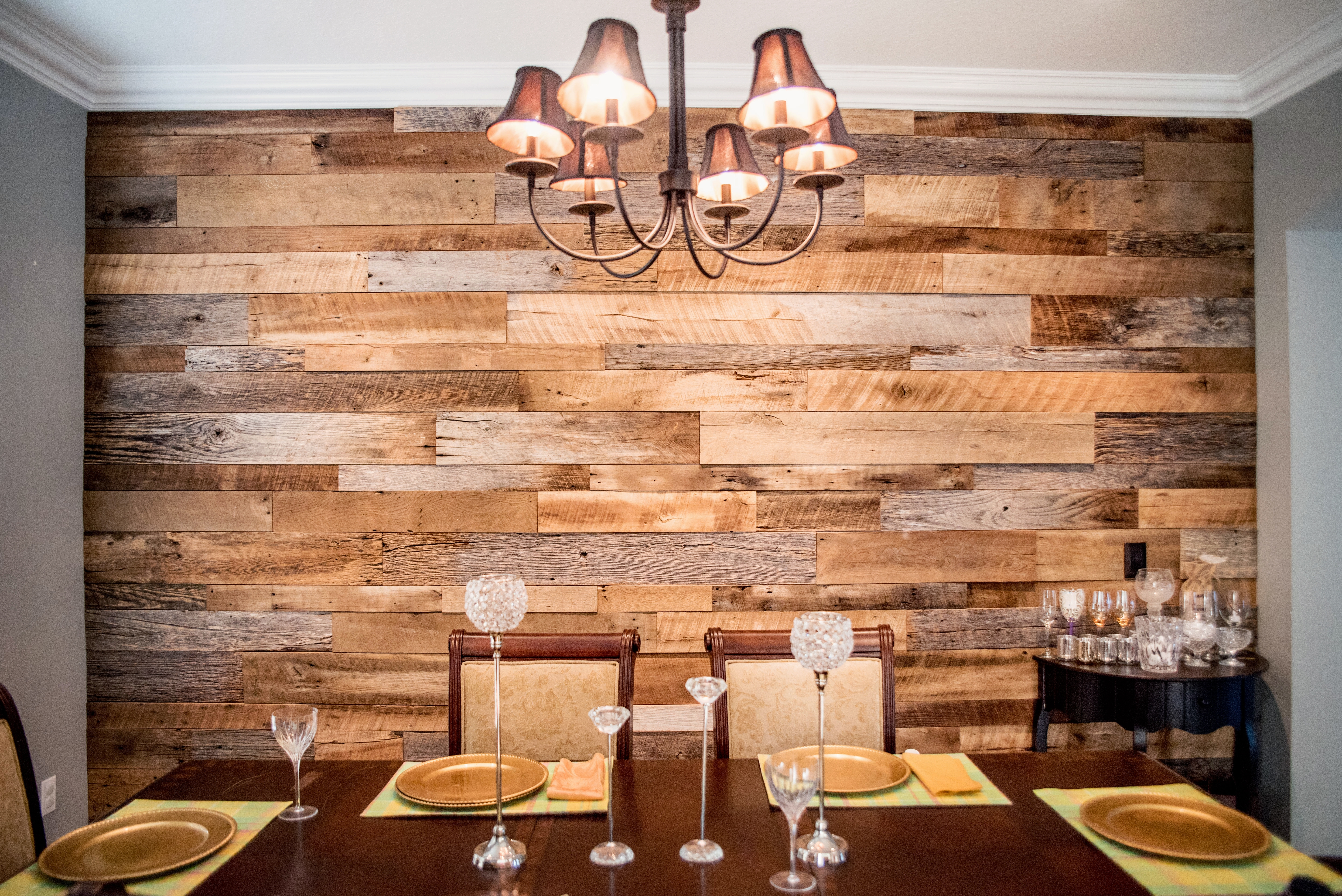 Living Room Wood Walls In Living Room Perfect The Hughes Dining For Most Current Wood Wall Accents (View 7 of 15)