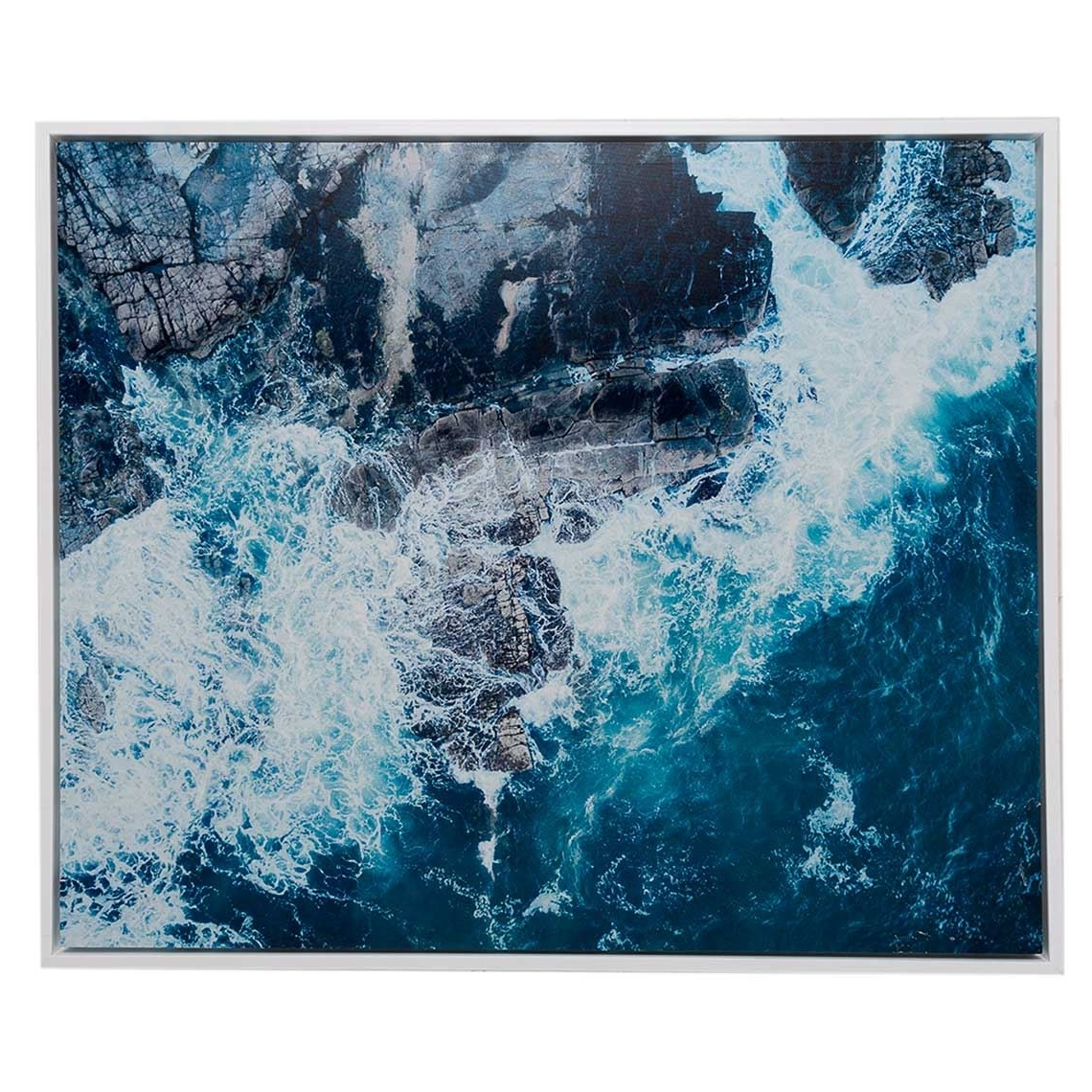 Mandurah Canvas Wall Art For Most Popular Neeks & Gaston Framed Canvas 120X100Cm Mooloolaba Waves (View 8 of 15)