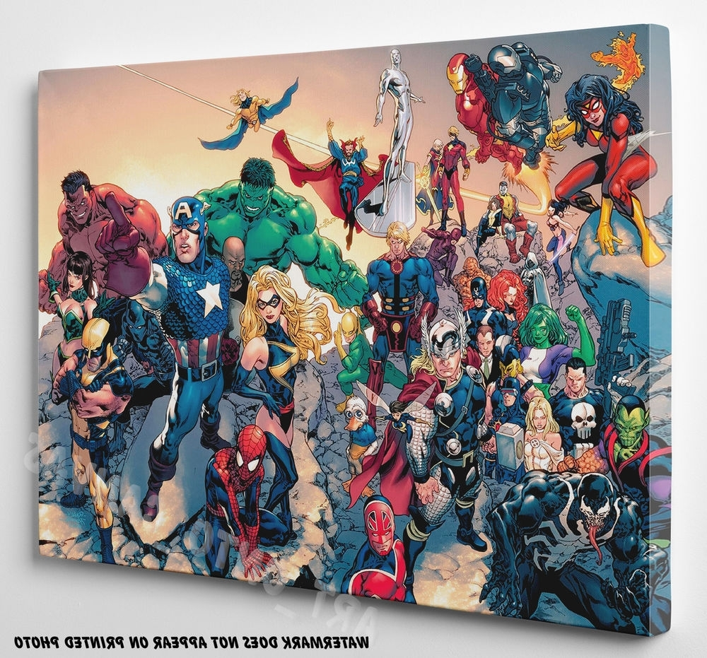 Marvel Canvas (View 7 of 15)