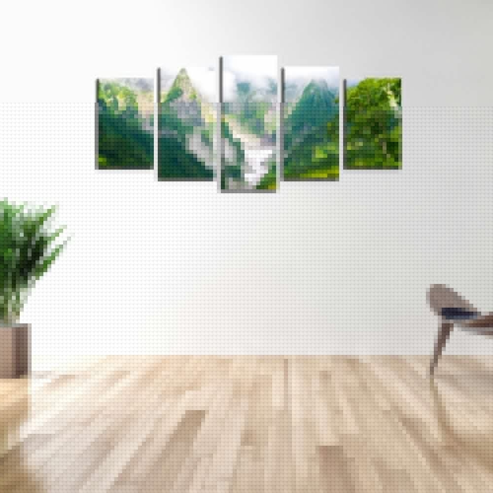 Massive Selection For Framed Landscape Canvas Print Green Mountain Inside Most Recently Released Ottawa Canvas Wall Art (View 7 of 15)