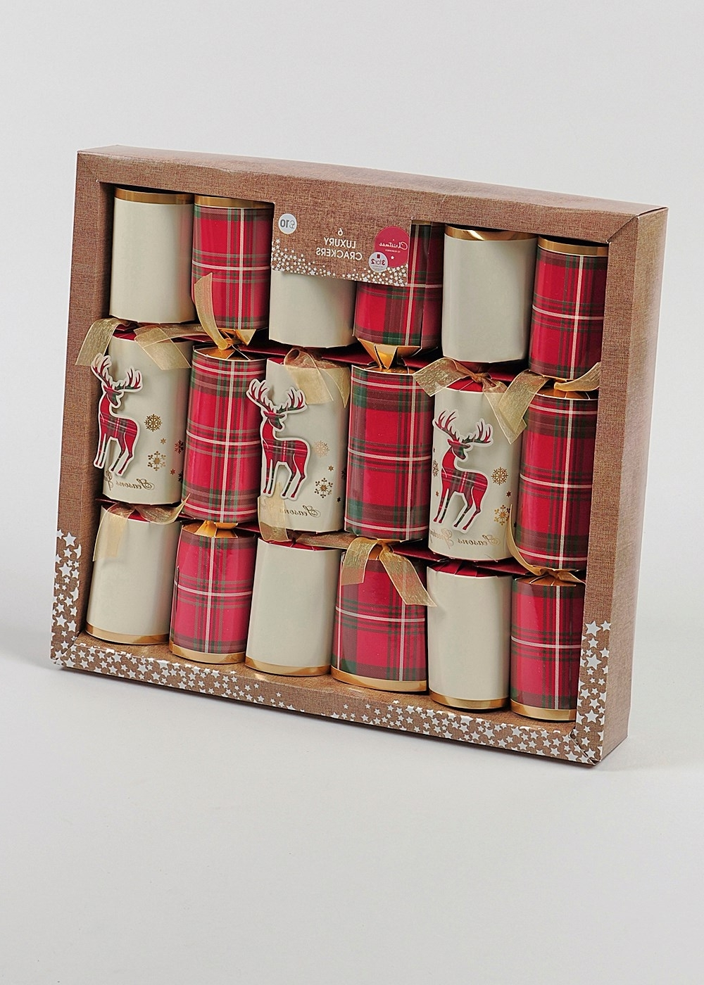 Matalan Canvas Wall Art Inside Newest 6 Pack Luxury Christmas Crackers (35Cm X 7Cm) – Matalan (View 7 of 15)