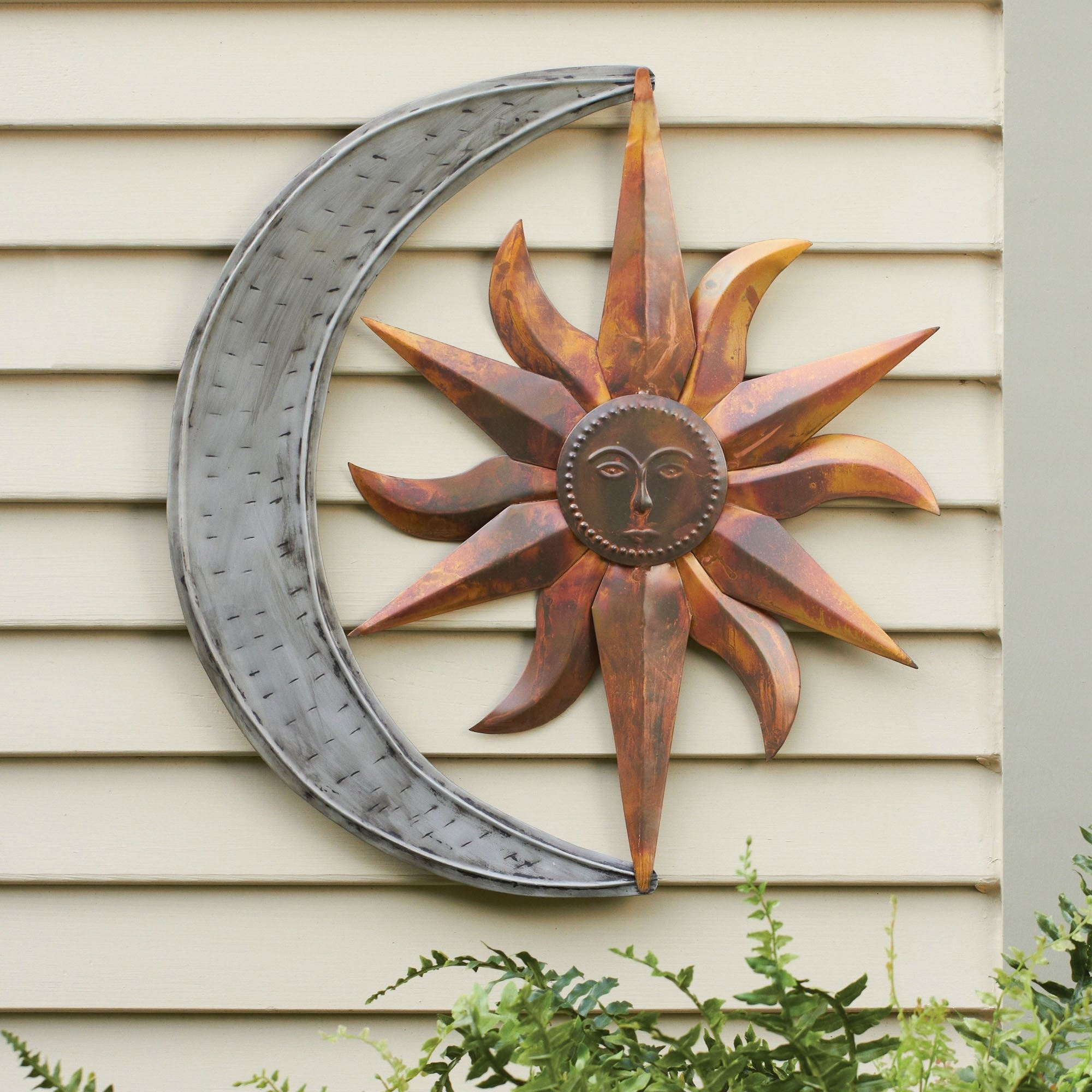 Metal Wall Accents In Preferred Sun And Moon Indoor Outdoor Metal Wall Art (View 7 of 15)