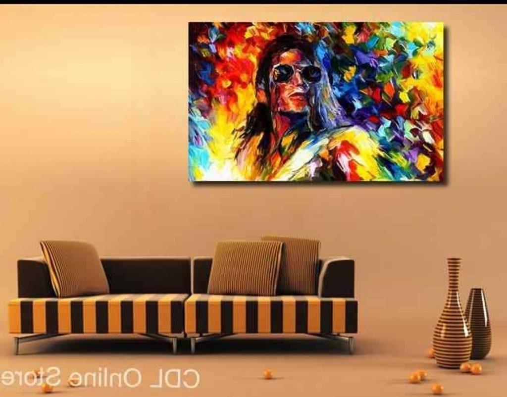 Michael Jackson Canvas Wall Art In Well Liked Frame Michael Jackson Canvas Painting Modern Wall Art Home (View 7 of 15)