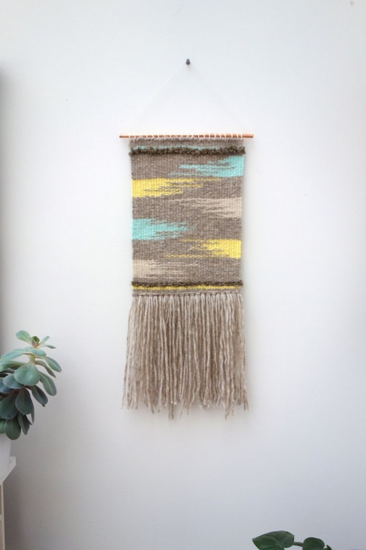 Mid Century Textile Wall Art In Recent 188 Best Woven Images On Pinterest (View 4 of 15)