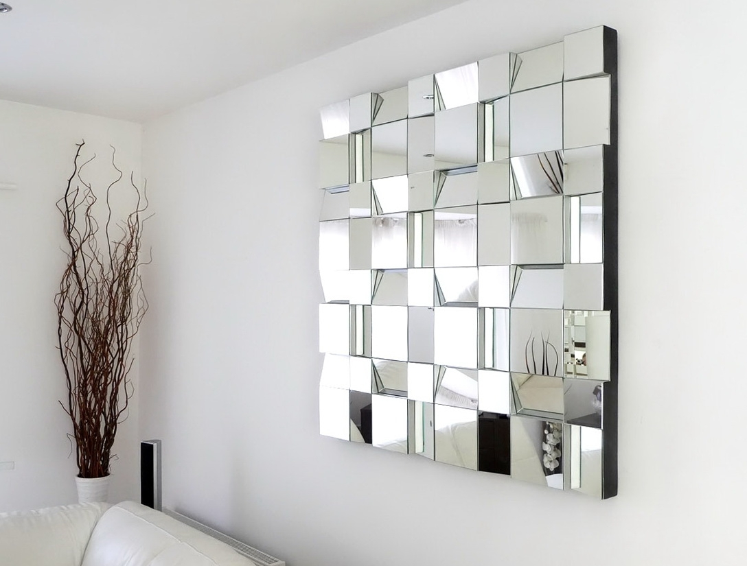 Mirrors Wall Accents Intended For Recent Wall Decor Beside Mirror – The Decorative Wall Mirror And The (View 7 of 15)
