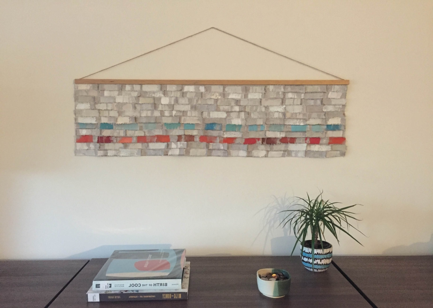 Featured Photo of Contemporary Fabric Wall Art