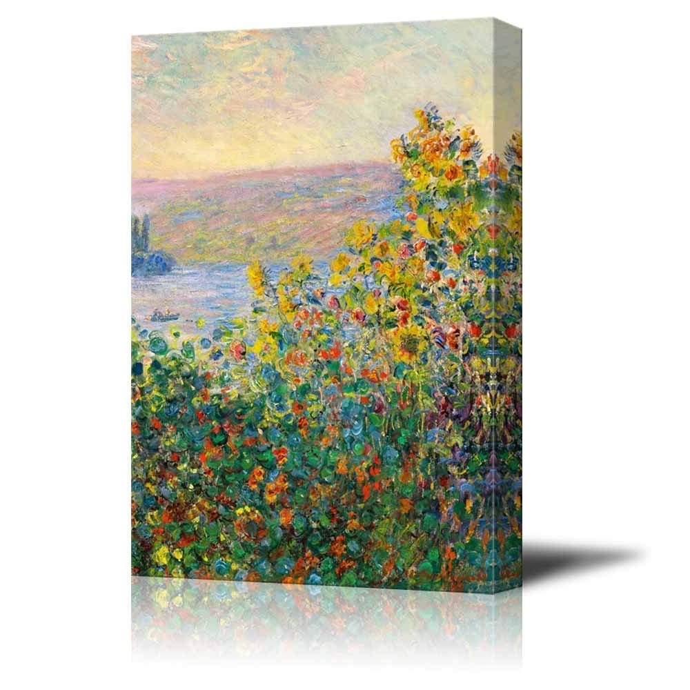 Monet Canvas Wall Art In Newest Wall26 – Art Prints – Framed Art – Canvas Prints – Greeting (View 3 of 15)