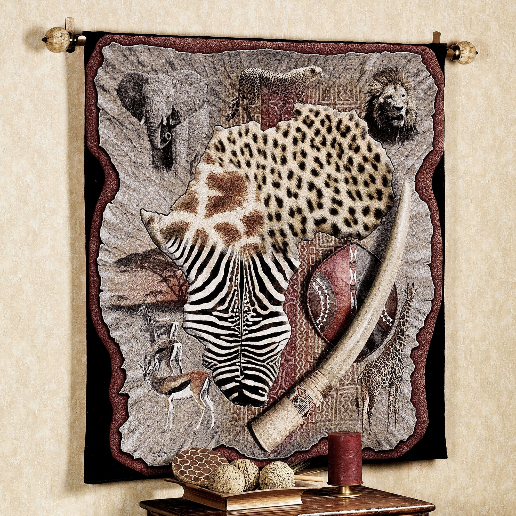 Most Current African Wall Accents Pertaining To Wall Tapestries (View 1 of 15)