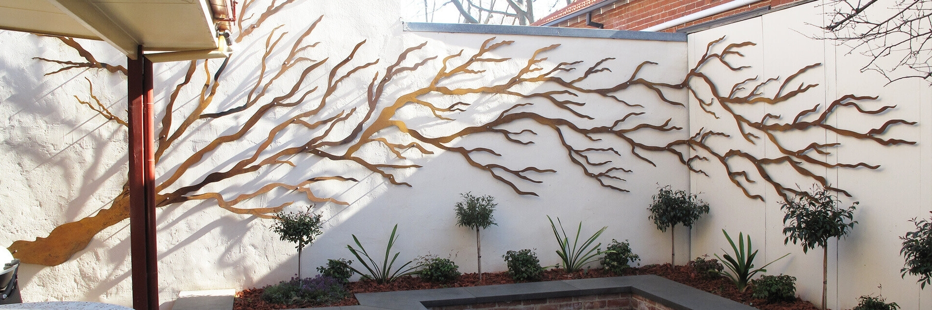 Most Current Australia Wall Accents Throughout Outdoor : Metal Wall Sculpture Outdoor Wall Decorations Garden (View 8 of 15)