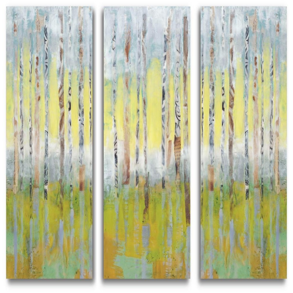 Most Current Birch Trees Canvas Wall Art Inside Courtside Market 3 12 In. X 36 In (View 6 of 15)