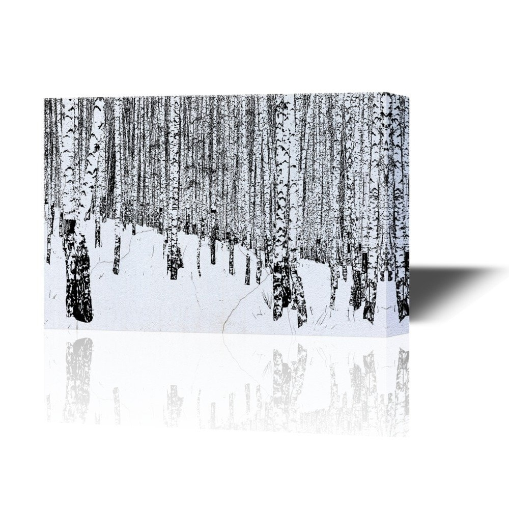 Most Current Birch Trees Canvas Wall Art Regarding Wall26 – Art Prints – Framed Art – Canvas Prints – Greeting (View 7 of 15)