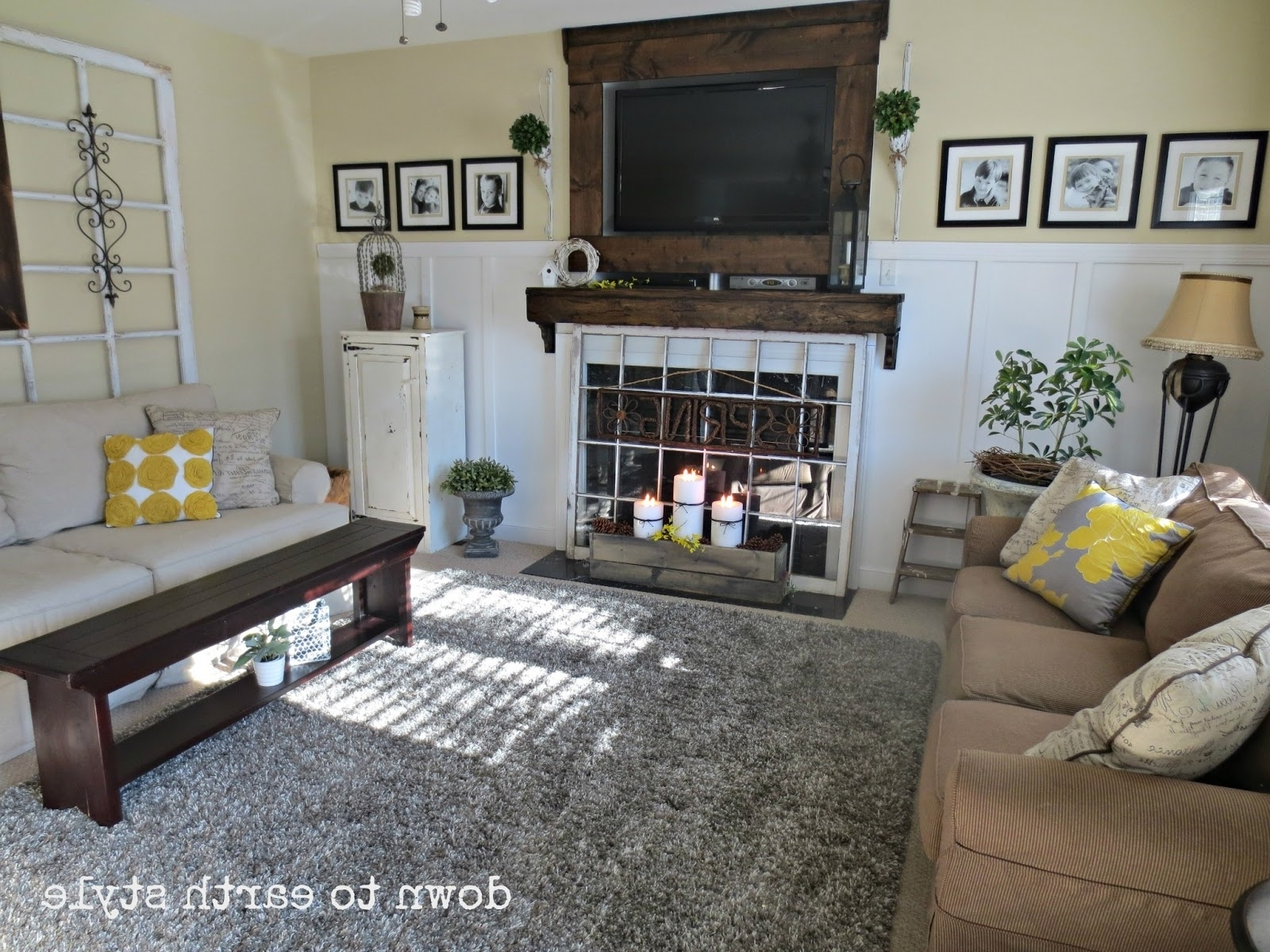 Most Current Down To Earth Style: Wall Colors Throughout Earth Tones Wall Accents (View 10 of 15)