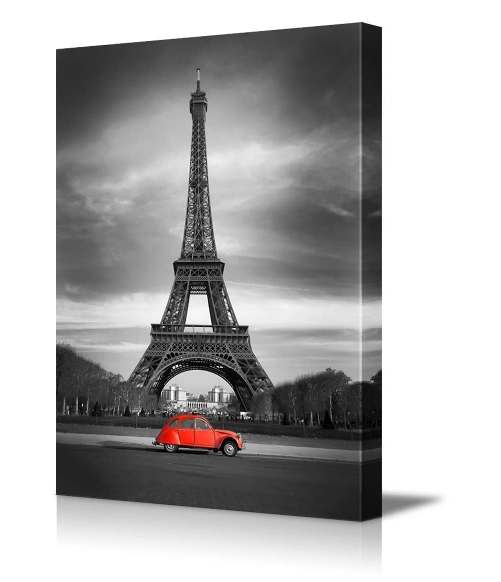 Most Current Eiffel Tower Canvas Wall Art Inside Wall26 – Art Prints – Framed Art – Canvas Prints – Greeting (View 9 of 15)