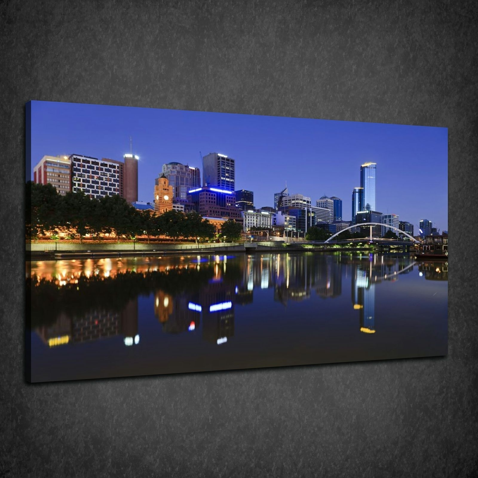 Most Current Melbourne Canvas Wall Art Inside Canvas Print Pictures. High Quality, Handmade, Free Next Day Delivery (View 7 of 15)