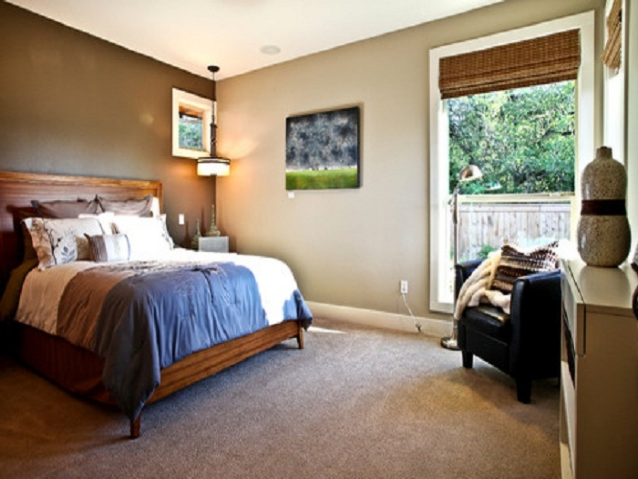 Most Current Wall Accents Color Combinations In Bedroom Design: Dining Room Wallpaper Accent Wall Modern Wood (View 5 of 15)