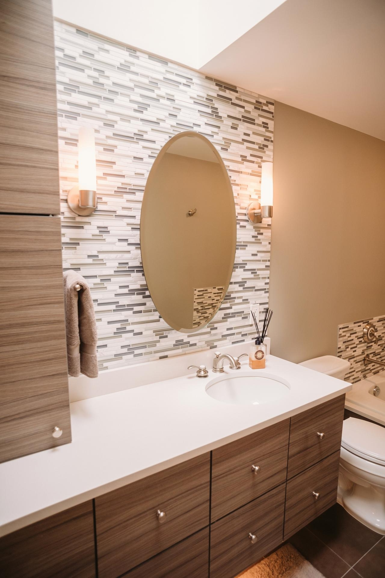 Most Current Wall Accents For Bathroom Within Latest Posts Under: Bathroom Accent Wall (View 7 of 15)