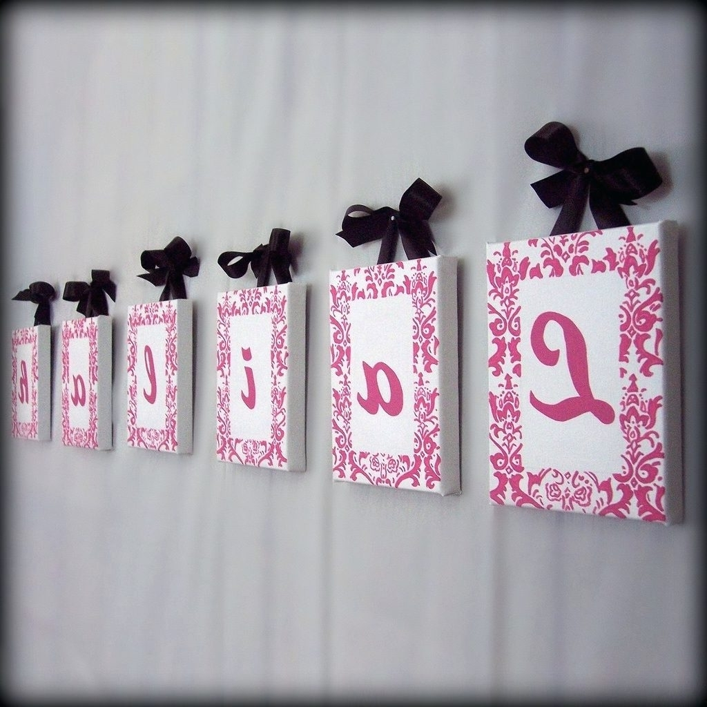 Most Current Wall Arts ~ Baby Name Wall Art Pinterest Baby Name Wall Art Inside Baby Names Canvas Wall Art (View 9 of 15)