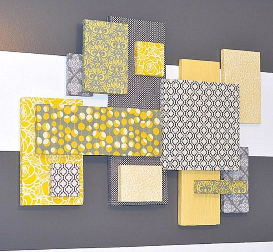 Most Current Wall Decor: Good Look Styrofoam Decoration For Walls Foam Wall In Yellow Wall Accents (View 6 of 15)