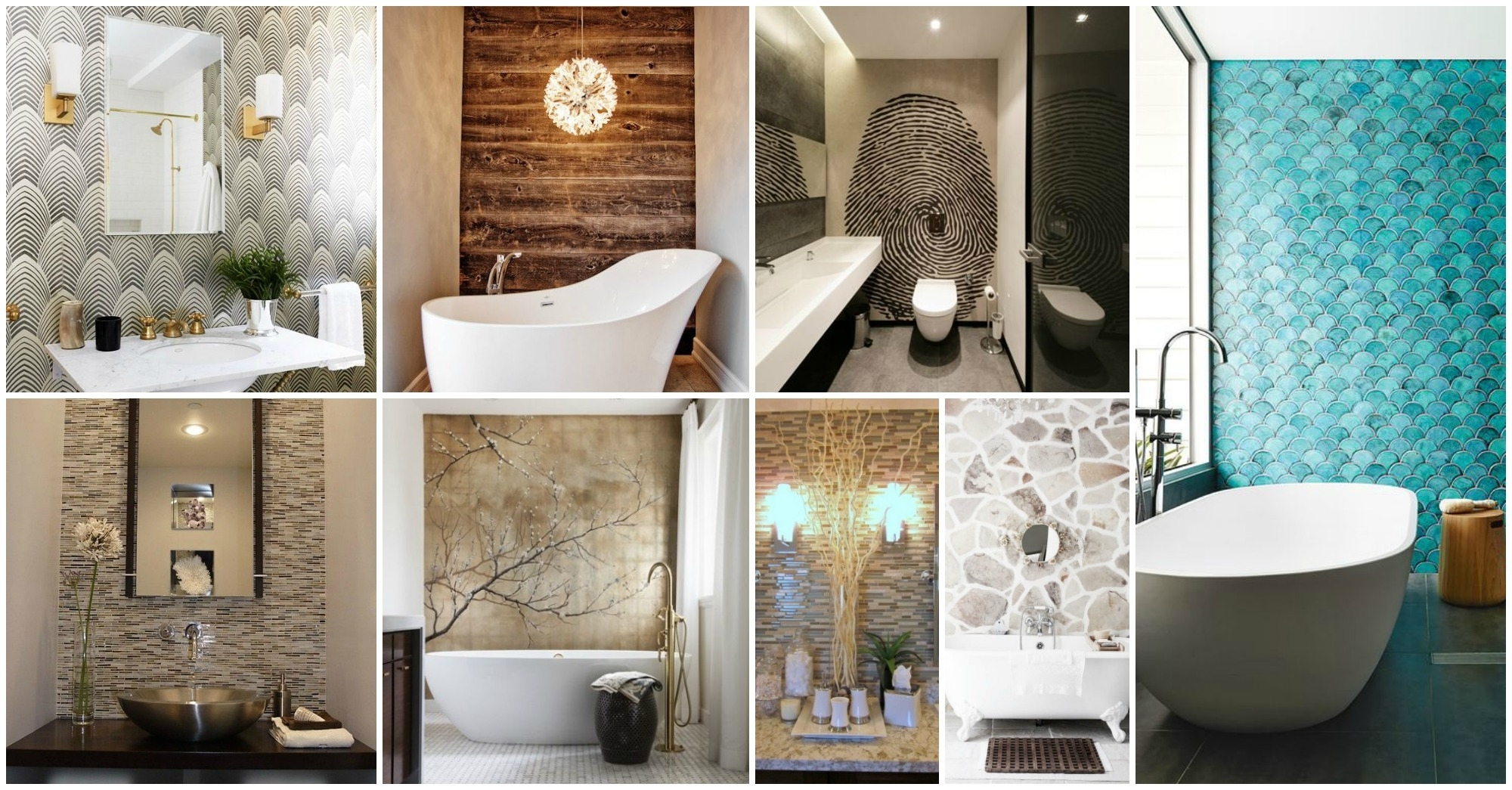Most Current Wonderful 23 Bathroom With Accent Wall On Decorative Accents For Pertaining To Wall Accents For Bathroom (View 8 of 15)