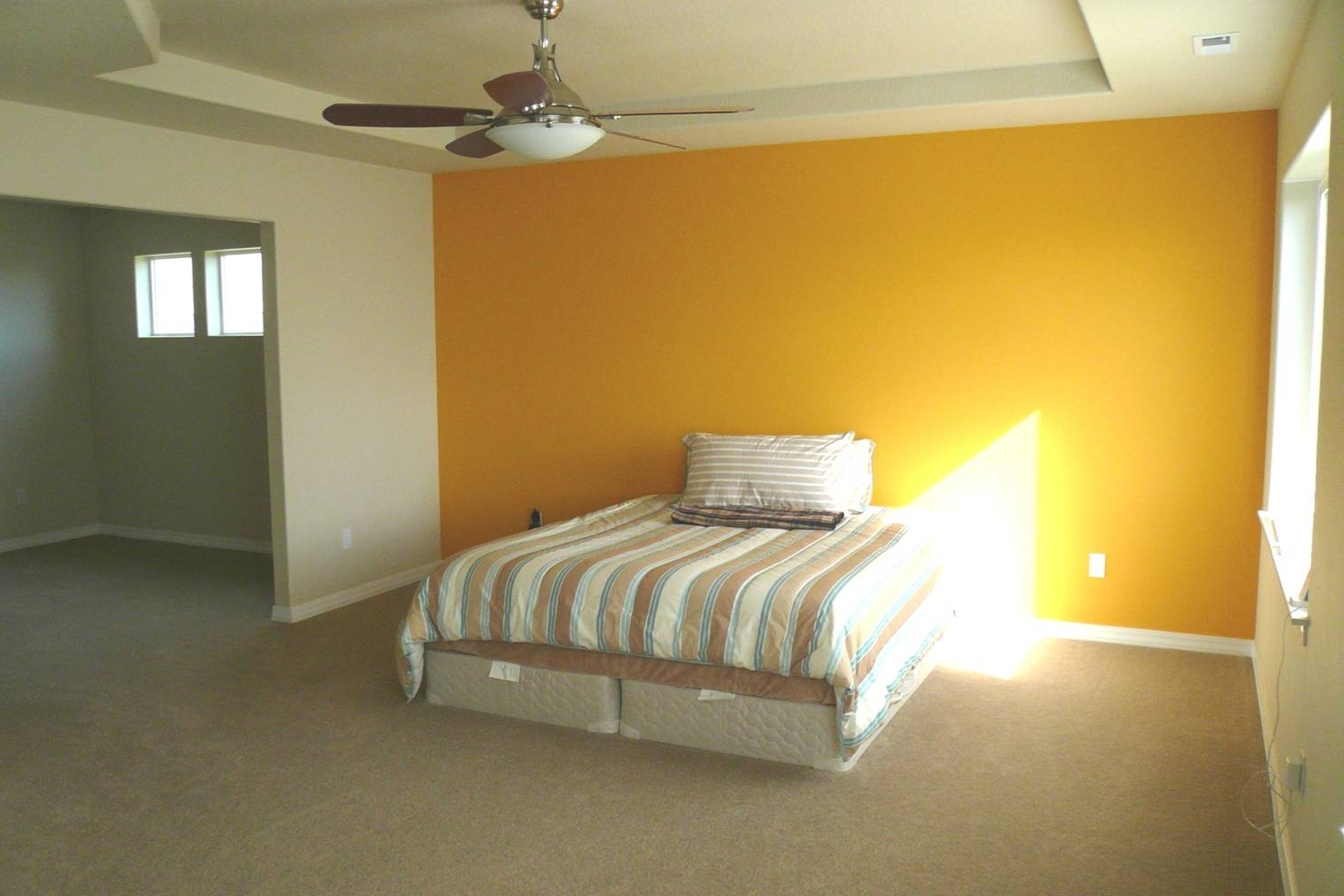 Most Current Yellow Wall Accents Within Bedroom: Artistic Picture Of Bedroom Decoration Using Yellow Best (View 7 of 15)