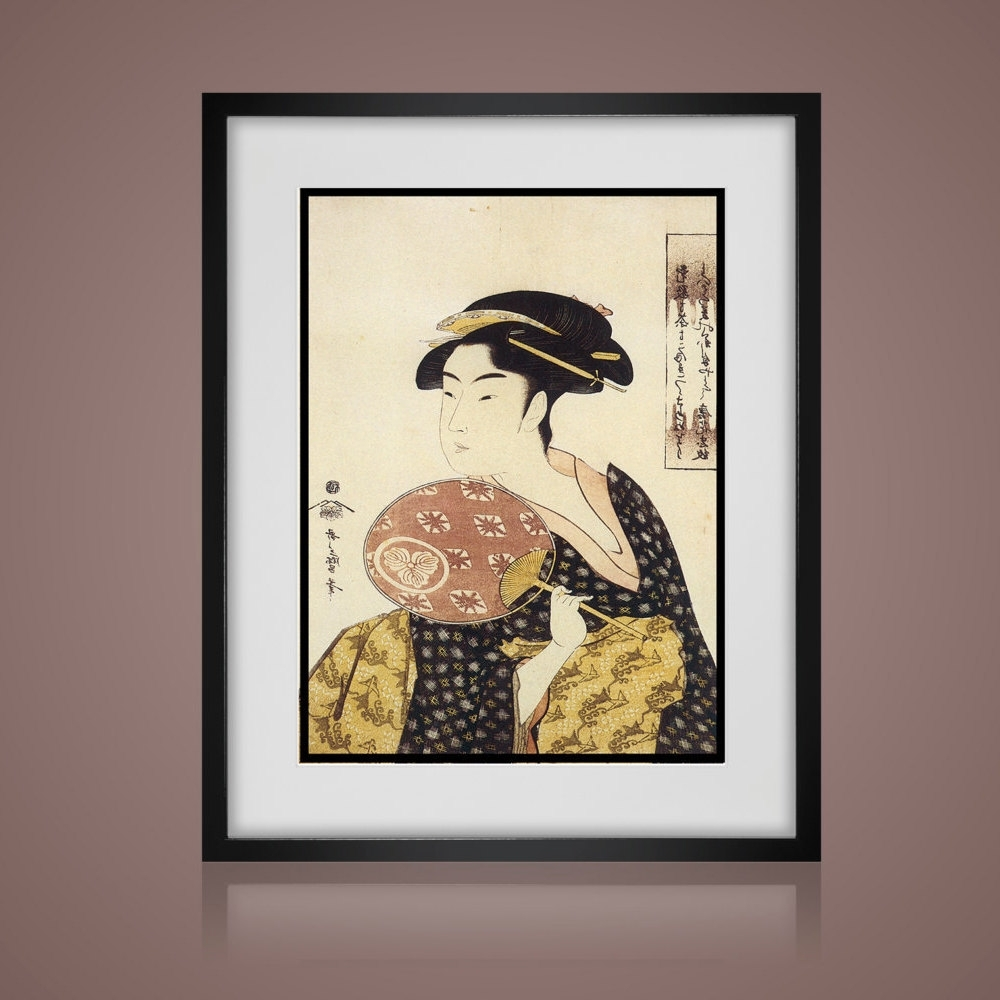 Most Popular Antique Framed Art Prints In 3 Piece Wall Art – Vintage Japanese Prints  Matted And Framed (View 11 of 15)