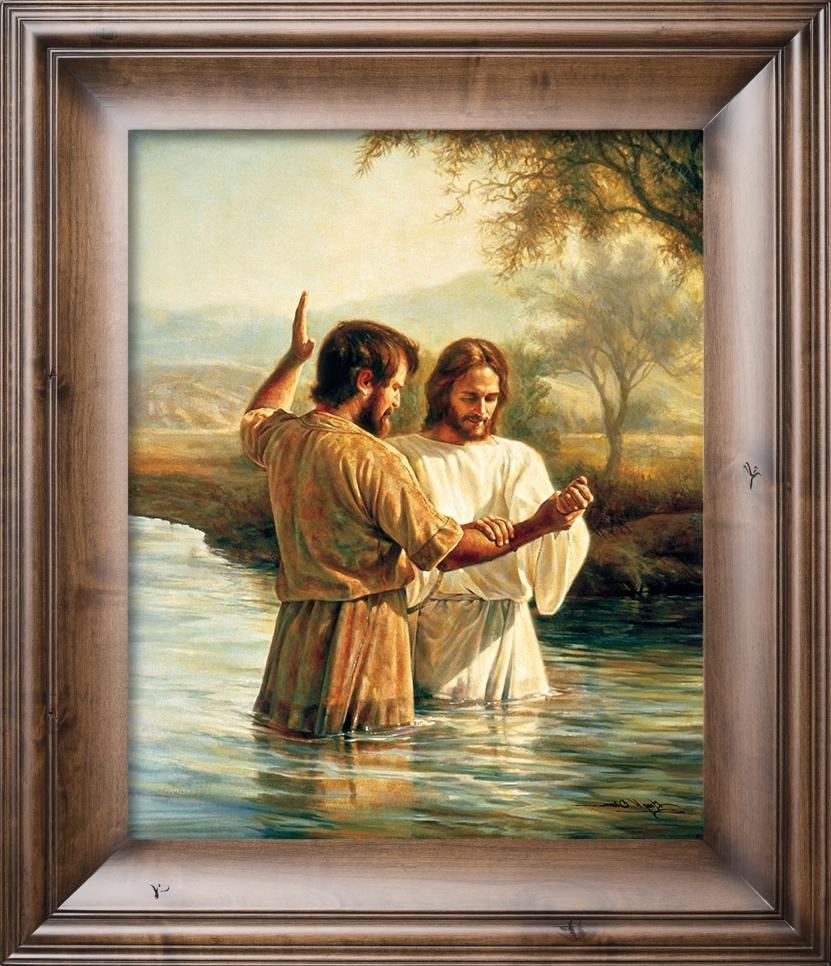 Most Popular Christian Framed Art Prints For The Baptism – Christian Artgreg Olsen (View 5 of 15)