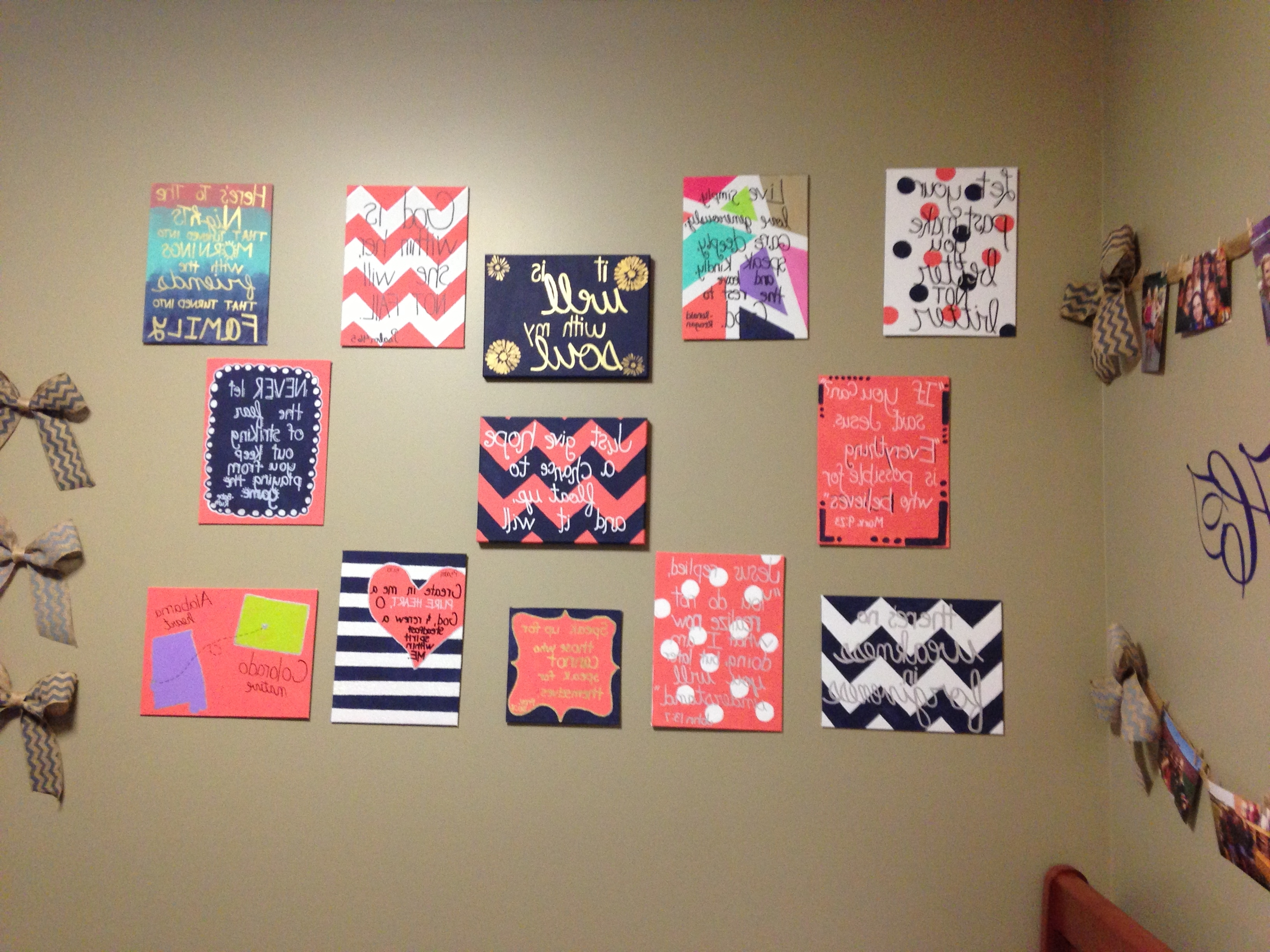 Most Popular Dorm Room Decor. (View 12 of 15)