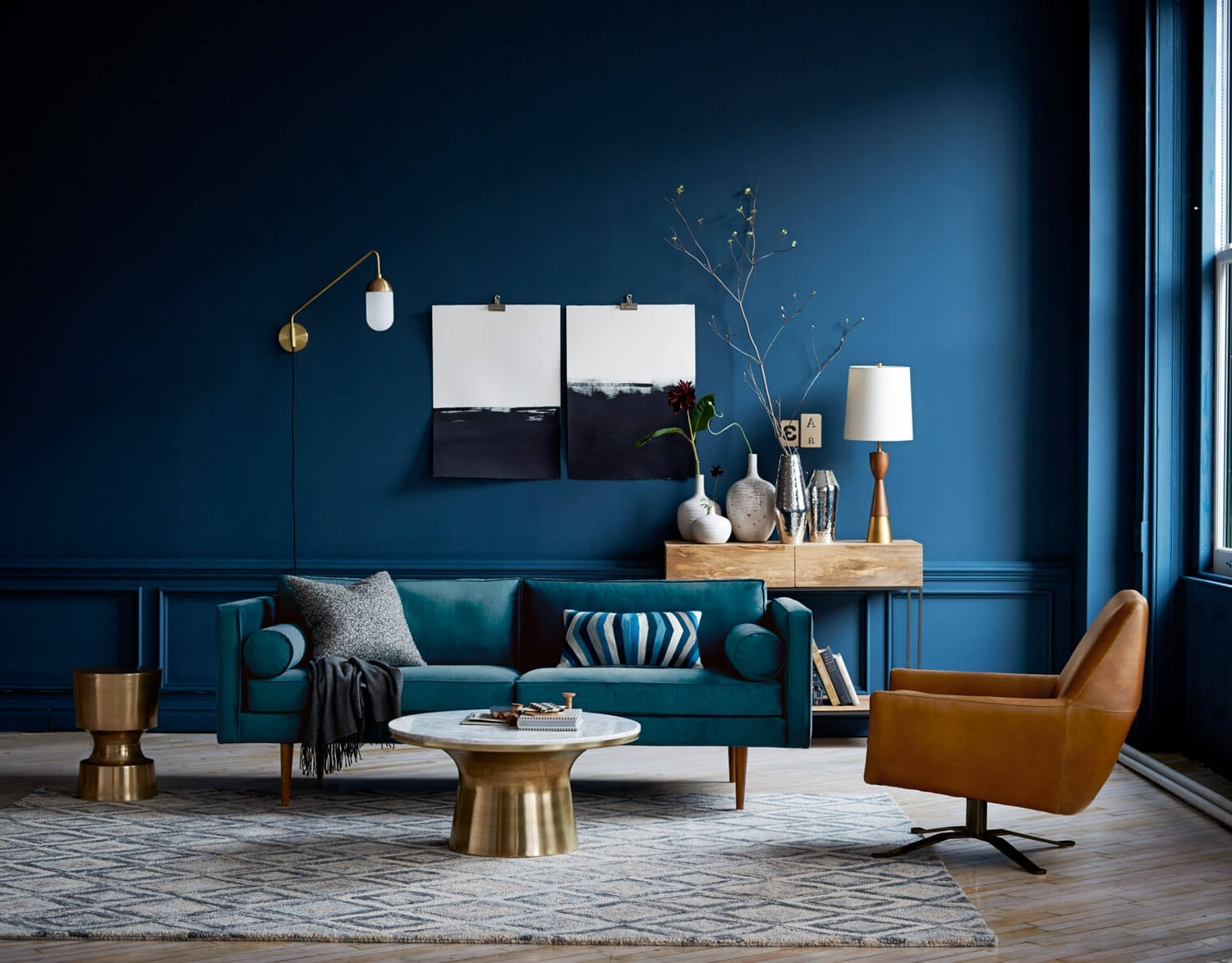 Most Popular This Is How To Decorate With Blue Walls (View 12 of 15)