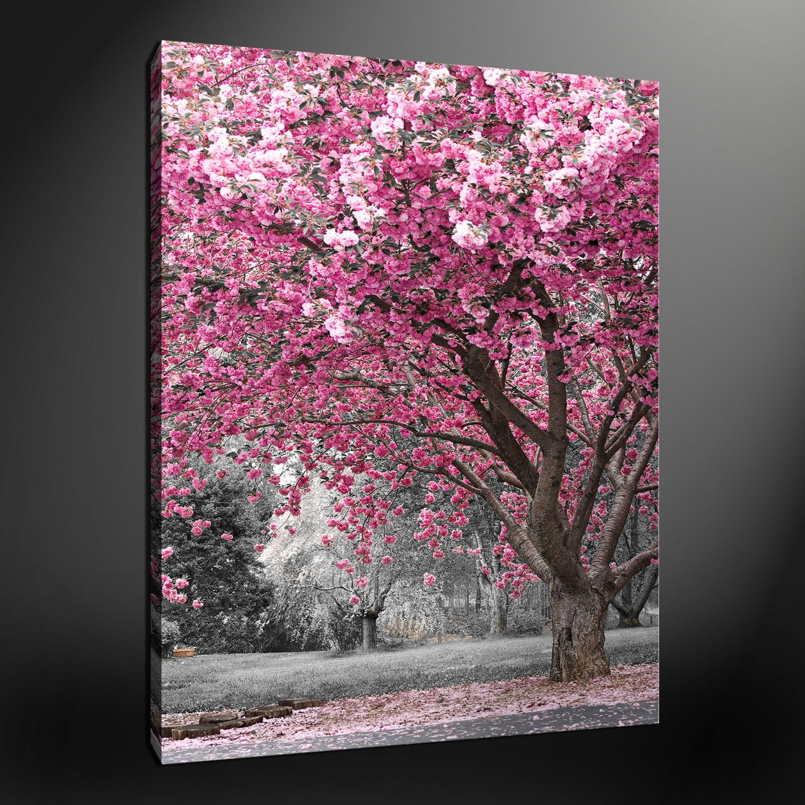Most Popular Wall Art Designs: Pink Wall Art Wonderful Pictures Beautiful Pink Intended For Pink Canvas Wall Art (View 1 of 15)