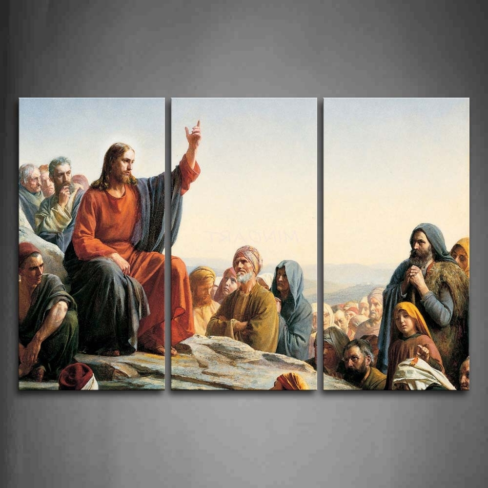 Featured Photo of Jesus Canvas Wall Art