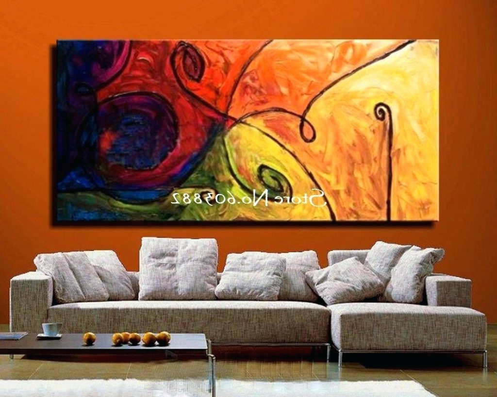 Most Recent Big W Canvas Wall Art Pertaining To Wall Arts ~ Extra Large Canvas Abstract Wall Art Buy Canvas Wall (View 9 of 15)