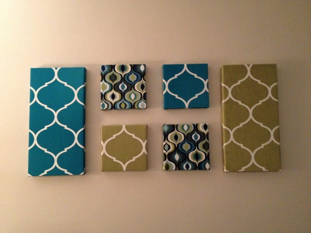 Most Recent Contemporary Fabric Wall Art In Wall Art Decor: Amusing Fabric Wall Art Cheap Easy To Made And (View 11 of 15)