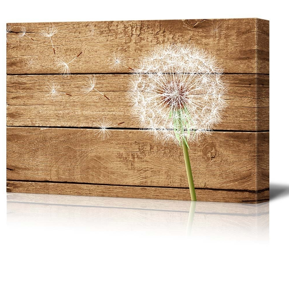Most Recent Dandelion Canvas Wall Art For Wall26 – Art Prints – Framed Art – Canvas Prints – Greeting (View 10 of 15)