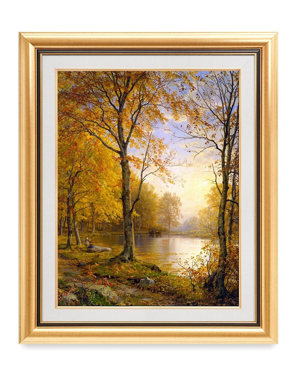 Most Recent Decorarts – 'indian Summer', William Trost Richards; Classic Art Intended For Framed Classic Art Prints (View 4 of 15)